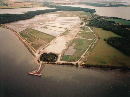 Erweiterung des Spülfeldes Drigge zur Ablagerung von Sedimenten aus dem Strelasund 1999/2000