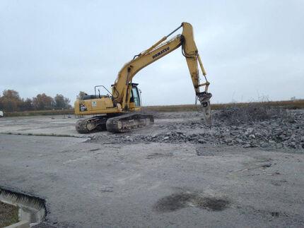 Abbruch und Sanierung einer ehemaligen Bohrplattform auf Usedom
