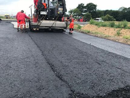 """Bau einer Erschließungsstraße im Gewerbegebiet """"Pommerndreieck"""""""